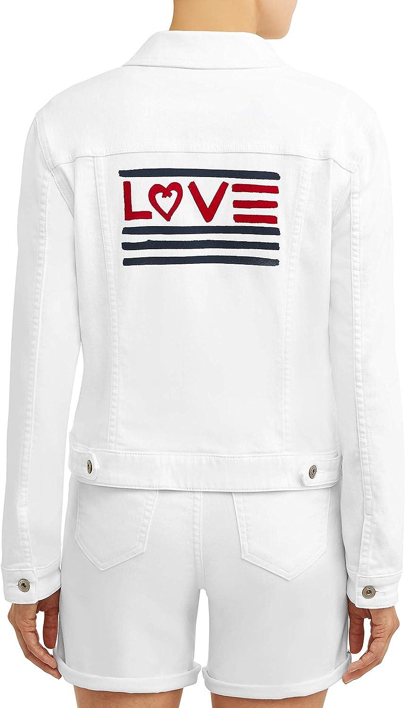 Direct stock discount EV1 from Ellen DeGeneres Women's Flag Premium Long-Sleeve Love D Trust