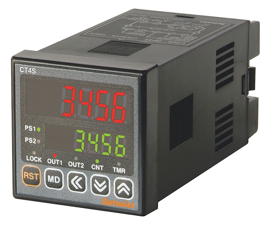 Counter Fixed price for sale Timer Touch Type CT Series Dual 6 Preset Digits Manufacturer direct delivery 48