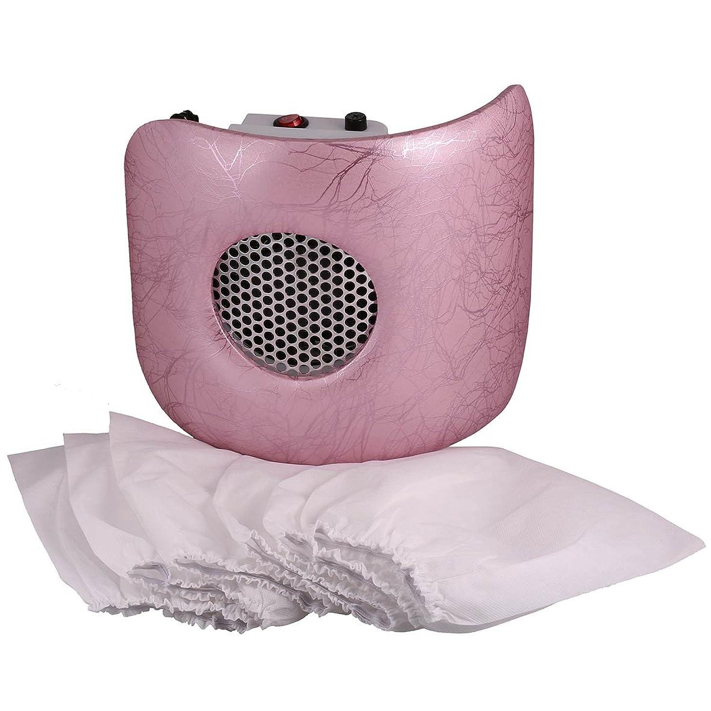 染料高尚なくさびMiss Sweet 電動ネイルダストコレクター ネイルダスト吸引 (Pink)