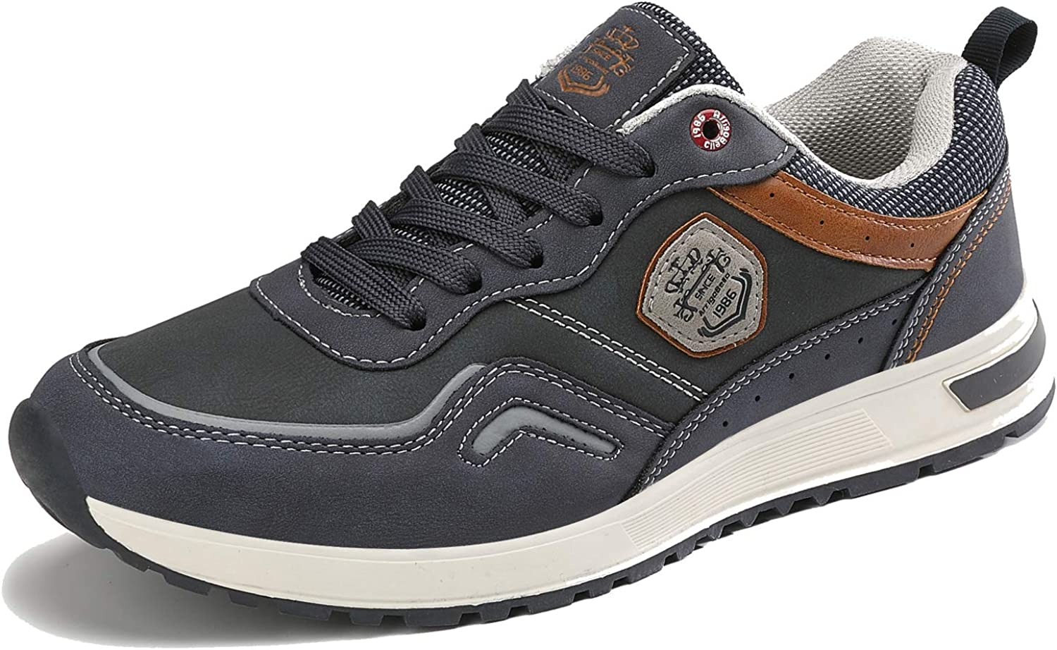 ARRIGO BELLO Mens Casual Shoes Trainers Walking Hiking Jogging Classic Business Outdoor Sneakers Running Size 7-11