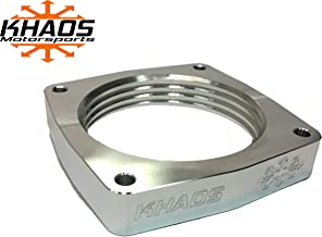 Khaos Motorsports Helix Throttle Body Spacer Compatible With Dodge Charger/Challenger / 300 / Jeep/Chrysler HEMI 5.7L 6.1L 6.4L