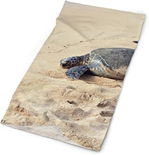 Owen Pullman Multifunctional Headwear Sea Turtle Swimming Head Wrap Elastic Turban Sport Headband Outdoor Sweatband