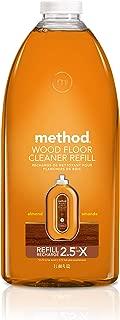 Method Squirt + Mop Hardwood Floor Cleaner Refill, Almond, 68 Fl Oz (Pack of 1)