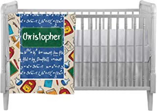 Math Lesson Crib Comforter/Quilt (Personalized)
