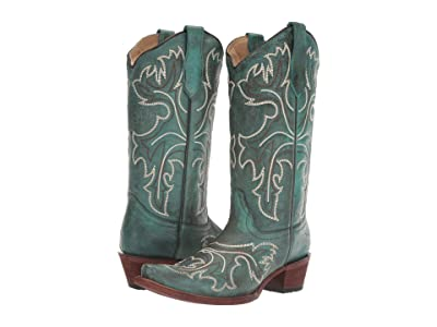 Corral Boots L5560 (Turquoise/White) Women