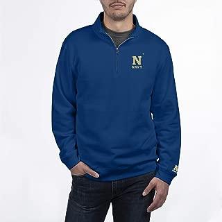 Top of the World NCAA Mens Quarter Zip Sweatshirt Team Applique Icon