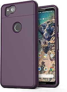 Encased Google Pixel 2 XL Phone Case, [SlimShield Edition] Full Coverage Protective Grip Cases for Google Pixel 2XL (2017) (Deep Purple)