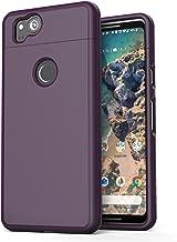 Google Pixel 2 XL Phone Case, Encased [SlimShield Edition] Full Coverage Protective Grip Cases for Google Pixel 2XL (2017) (Deep Purple)