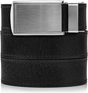 Men's Top Grain Leather Ratchet Belt