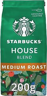 Starbucks House Blend medium gebrande gemalen koffie, 200 g