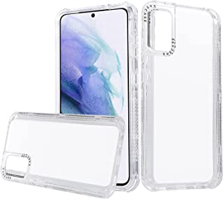 Ysnzaq for Xiaomi Redmi Note 10 4G (Not 5G) Clear Case with 3 in 1 Camera Lens Protection & Shockproof Edge Bumper Case wi...