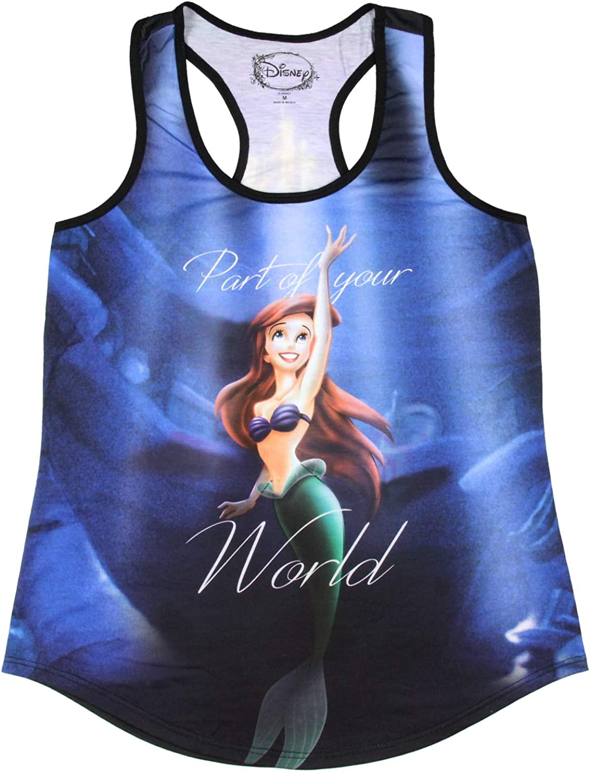 Disney The Little Mermaid Ariel Tank Sublimation Ursula SEAL limited product Girls OFFer
