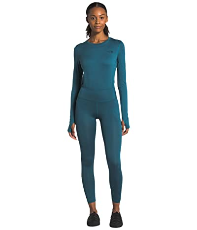 The North Face Warm Poly Tights (Mallard Blue) Women
