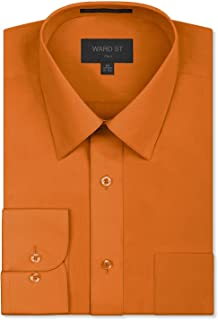 Ward St Men's Regular Fit Dress Shirts