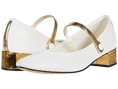 Repetto Rose (Blanc Or (White Gold) Patent) Women
