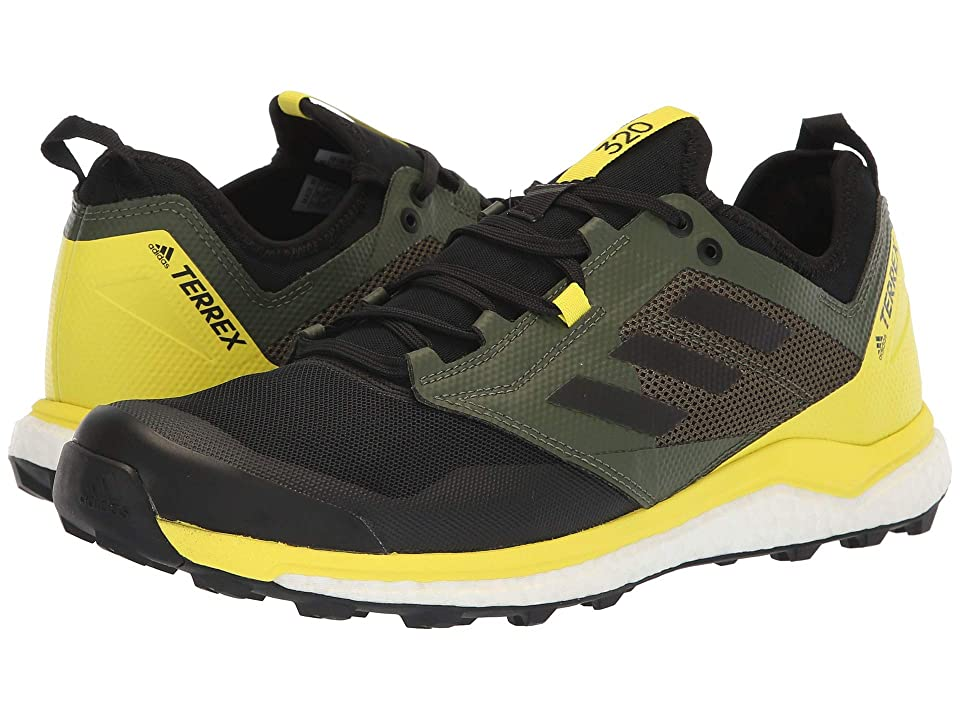 adidas Outdoor Terrex Agravic XT (Black/Black/Shock Yellow) Men's Running Shoes