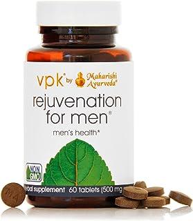 Rejuvenation for Men | 60 Herbal Tablets - 500 mg ea. | Natural Herbal Supplement for Promoting Stamina, St...