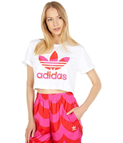 adidas Originals Marimekko Cropped Trefoil Tee