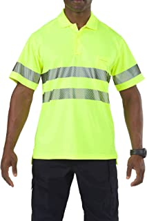 5.11 Tactical Men's High-Visibility Short Sleeve Polo Shirt