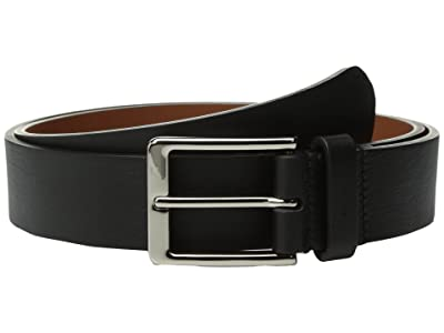 Shinola Detroit Lightning Bolt Keeper Belt (Black) Men