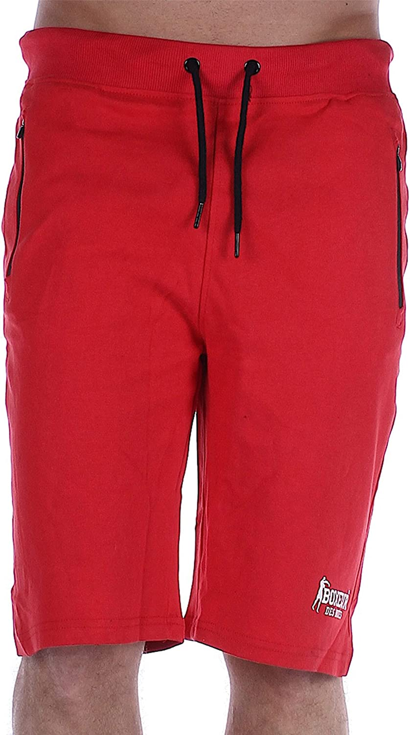 BOXEUR DES RUES - Man Shorts with Heat Welded Pockets Man