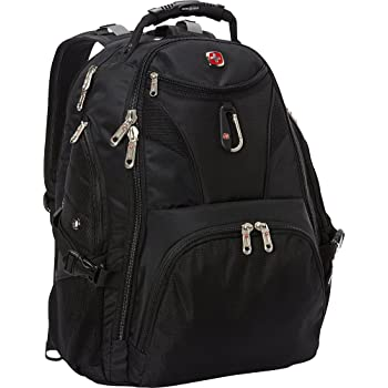SwissGear Travel Gear 5977 Scansmart TSA Laptop Backpack, Black, Size One Size