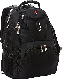 SwissGear Travel Gear 5977 Scansmart TSA Laptop Backpack, Black, Size One Size