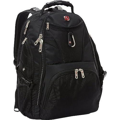 """SwissGear Travel Gear 5977 Scansmart TSA Laptop Backpack for Travel, School & Business - Fits 17"""" Laptop - (Black)"""