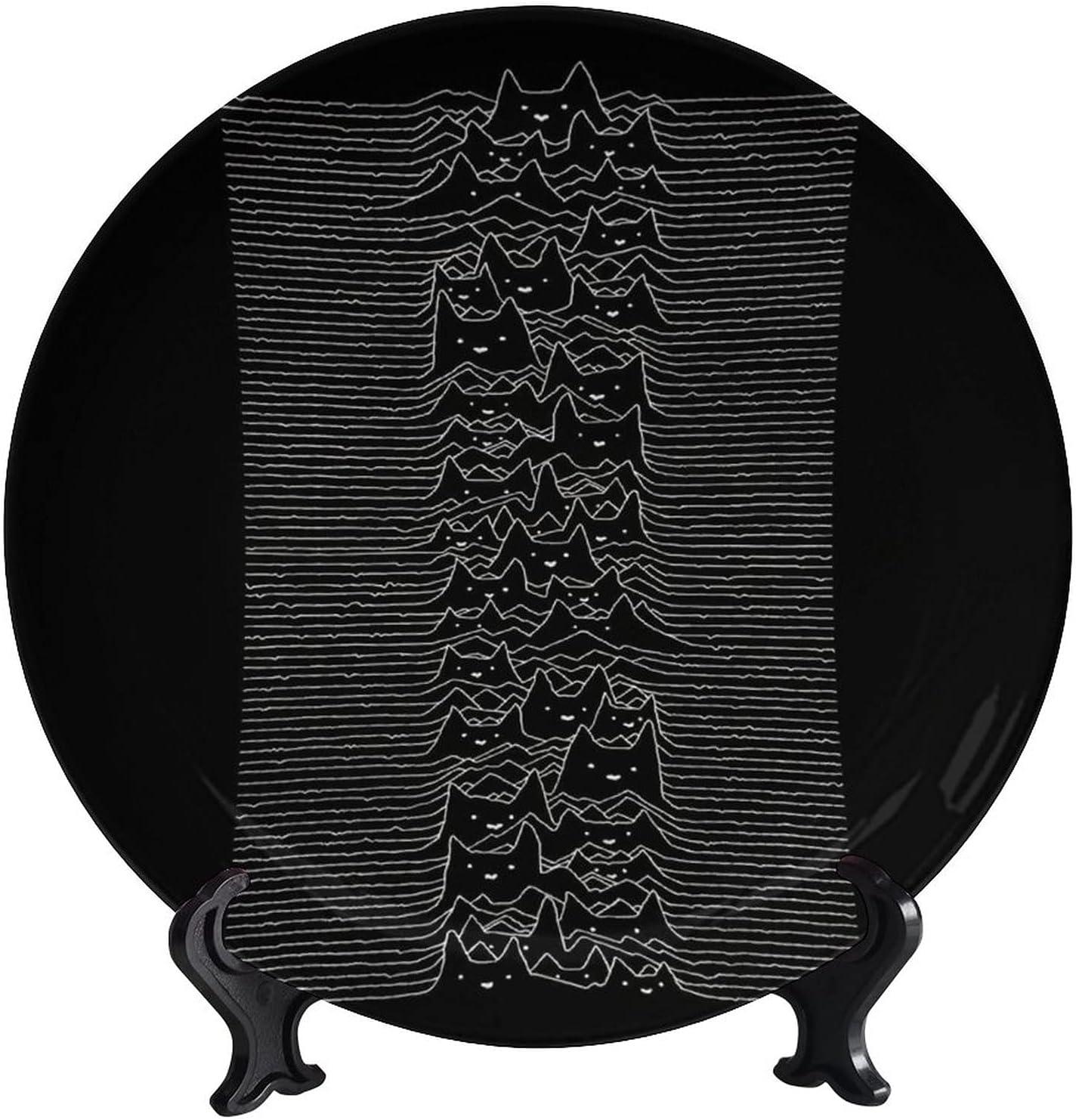 wonderr shopping Furr Division Decorative Plates De It is very popular Funny Art Animal