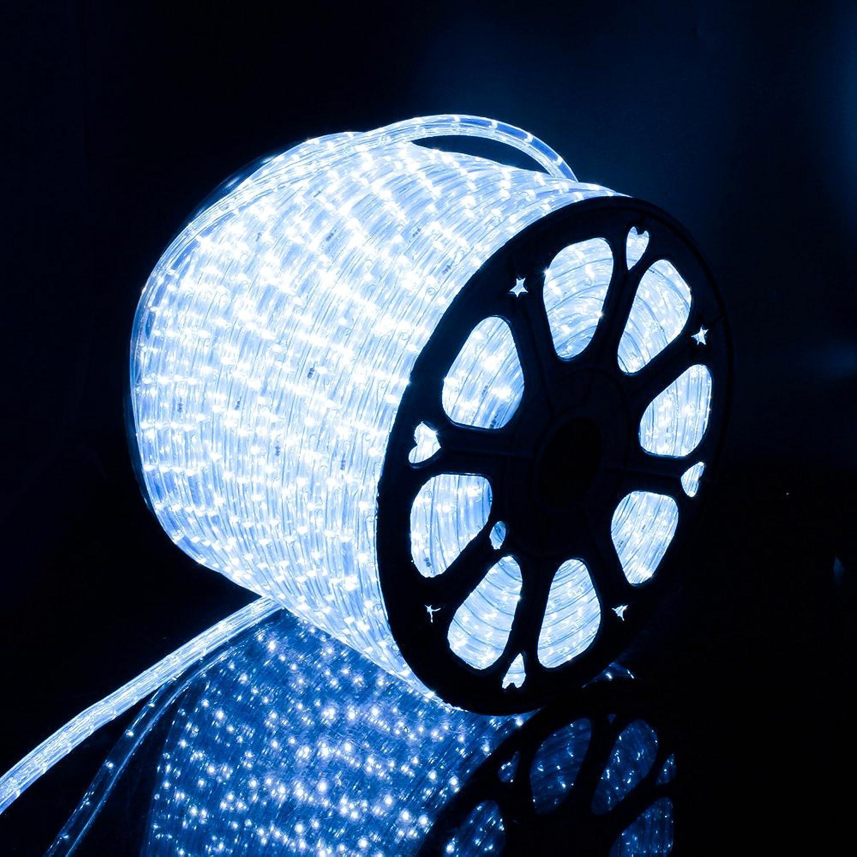 LED Lichterschlauch Lichterkette auen Licht Leiste 36LEDs M Schlauch für Innen und Auen IP65 50M Kaltwei