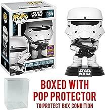 Funko Pop! SDCC 2017 Exclusive Star Wars: Rogue One - Combat Assault Tank Trooper Vinyl Figure (Bundled with Pop BOX PROTECTOR CASE)