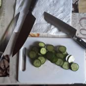 K/üchenmesser-Set mit Holzgriffen aus Grenadill Ikon inkl Schinkenmesser und Gem/üsemesser Kochmesser 1070560302 W/üsthof Messersatz 3-teilig
