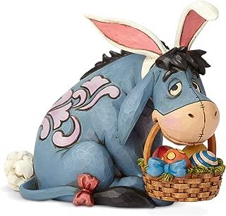 Enesco Disney Traditions by Jim Shore Winnie The Pooh Eeyore Easter Bunny Figurine, 5.71 Inch, Multicolor