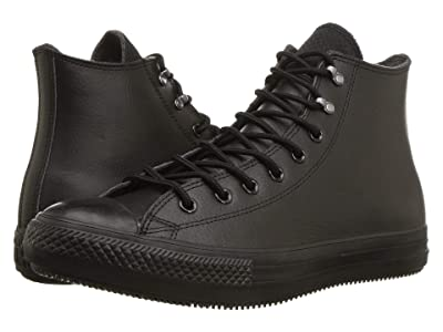 Converse Chuck Taylor All Star Winter First Steps Hi (Black/Black/Black) Shoes