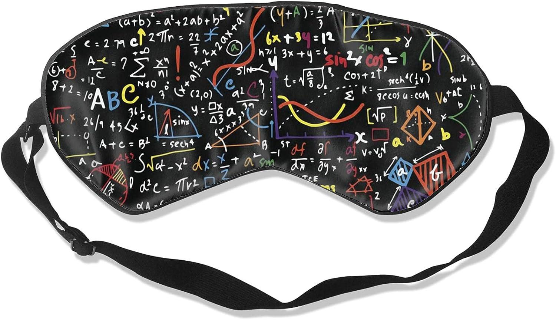 El Paso Mall Math Formula Soft Sleeping Eye Popular brand Cover Sleep Block-Light Mask