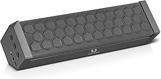 Fresh 'n Rebel RockBox Portable Bluetooth Speaker, Raw Gray