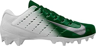 Nike Men's Vapor Untouchable Varsity Football Cleats 3 TD: White/Green (11.5 M)