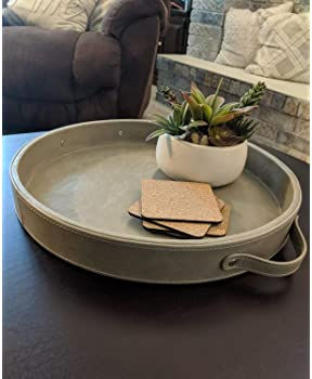 Explore Round Serving Trays For Ottomans Amazon Com
