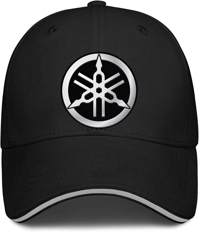 Unisex Trucker Cap ya-maha Red Symbol Adjustable Baseball Hat Workouts Snapback