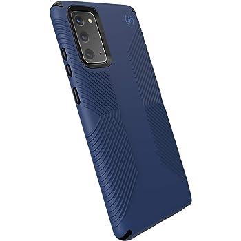 Speck Products Presidio2 Grip Samsung Note20 Case, Coastal Blue/Black/Storm Blue (138598-9128)