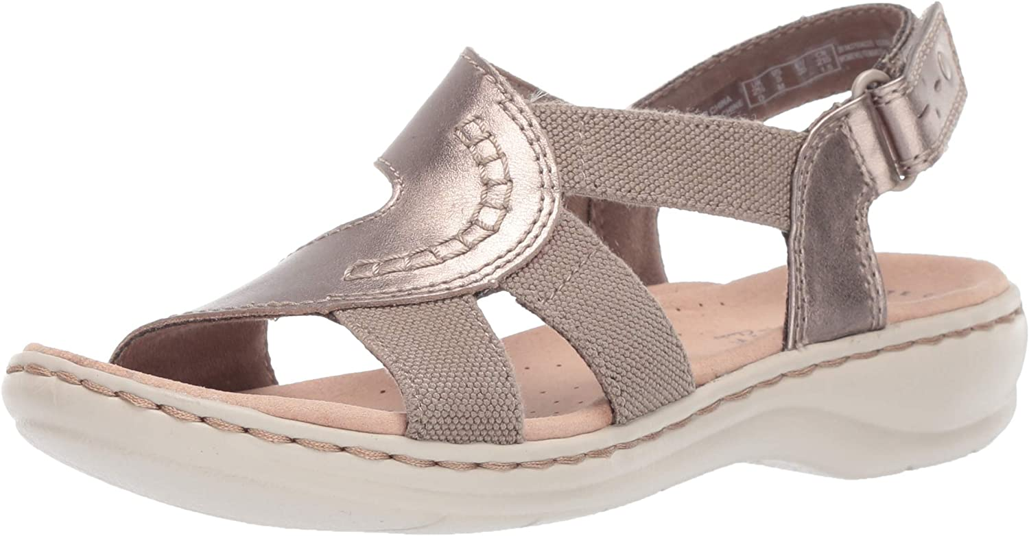 Clarks Womens Leisa Joy Flat Sandals