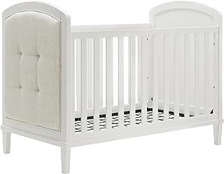 Baby Relax Senna 3-in-1 Upholstered Crib, White