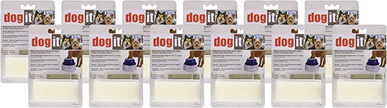 Dogit 24 Pack of Replacement Foam Filter Inserts for Drinking Fountains