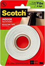 110P INDOOR MOUNTING TAPE, Scotch Mounting, white