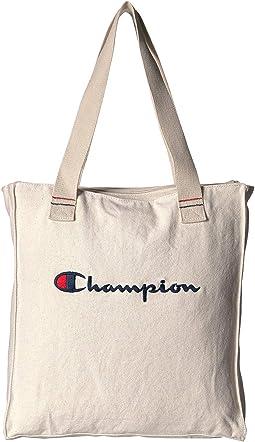 b43fc4465 Cream/Blue. 4. Champion. The Shuffle Shopper Tote