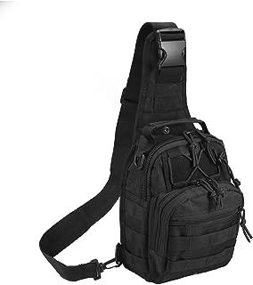 Novemkada Tactical Shoulder Bag,1000D Outdoor Military Sling Daypack Backpack