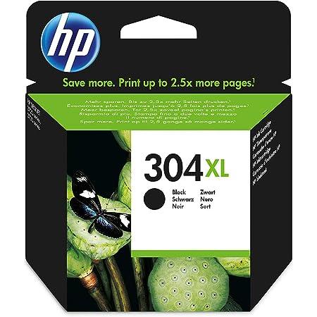 HP N9K08AE 304XL High Yield Original Ink Cartridge, Black, Single Pack