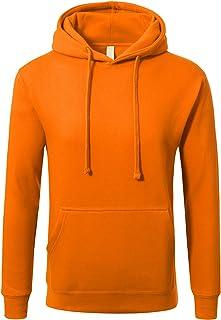 JD Apaprel Mens Premium Heavyweight Pullover Hoodie Sweatshirts