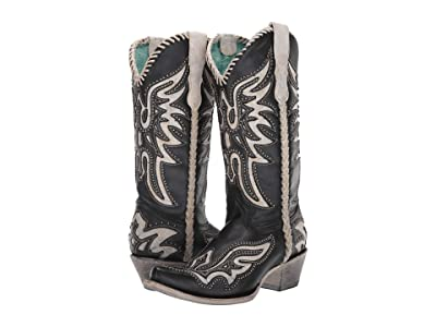 Corral Boots E1543 (Black/White) Women