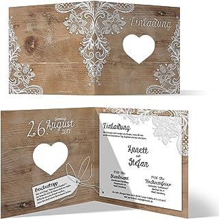 Suchergebnis Auf Amazonde Für Hochzeitseinladungen Selber Basteln